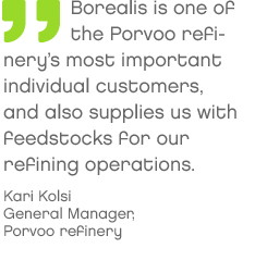 From oil to plastics – a customer and feedstock supplier based