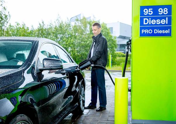 Neste tuo 100%:sti uusiutuvan dieselin autoilijoille