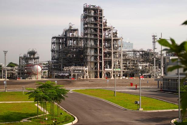 Singapore refinery