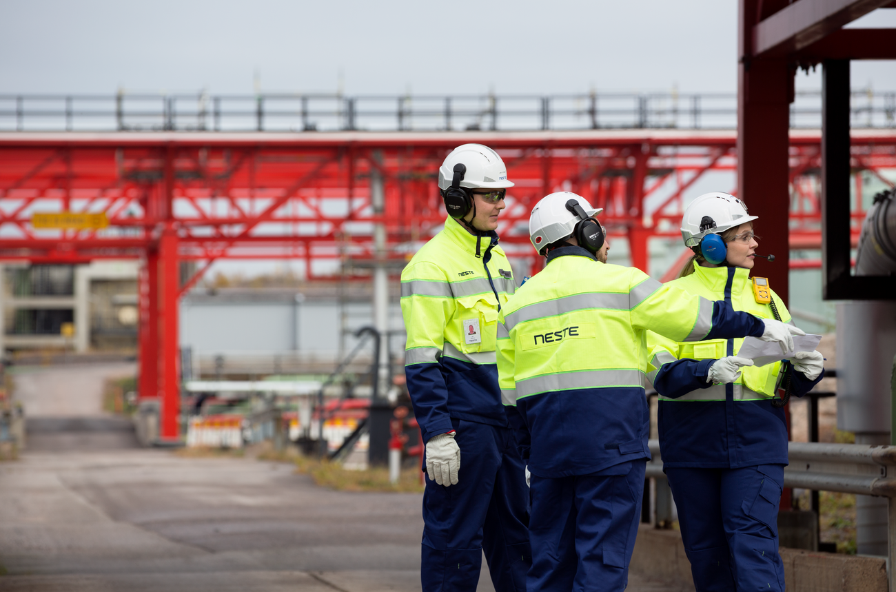As many of Neste Engineering Solutions' experts and engineers are actually working at or next to a chemical complex we know what practical engineering and operational excellence mean.