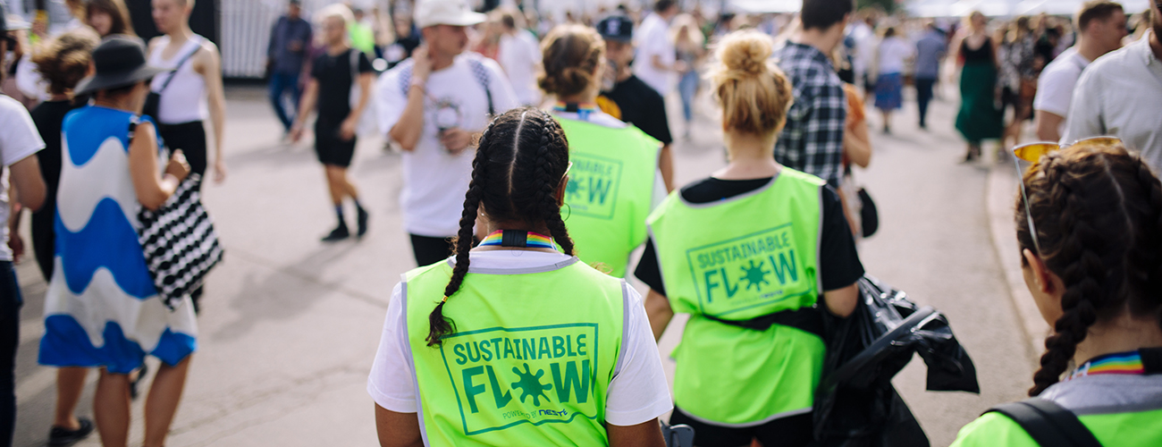 Sustainability at Flow