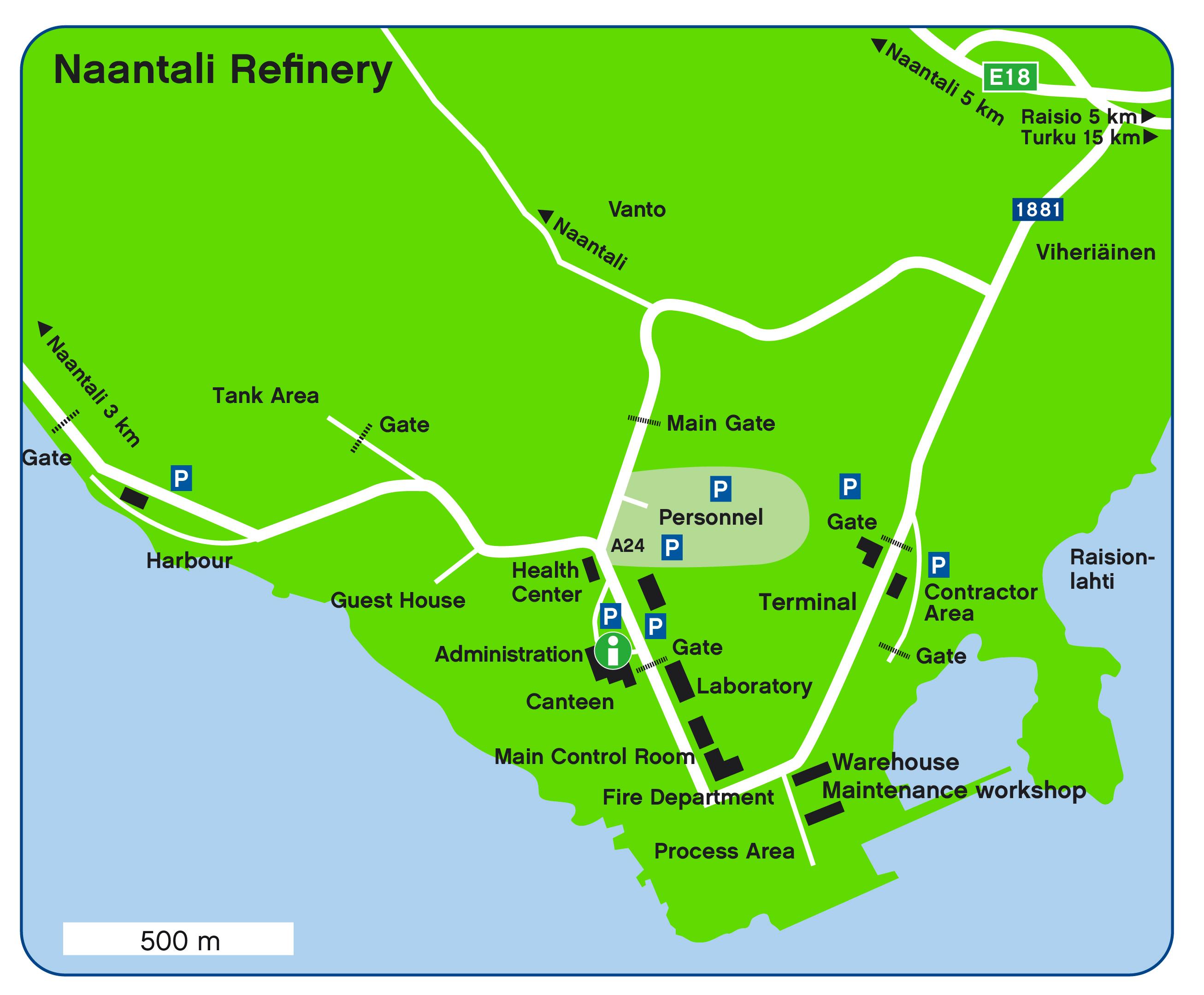 Area map Naantali 2017