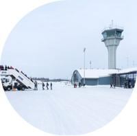 Kohti nollapäästöisiä lentokenttiä — Neste MY uusiutuva diesel käyttöön Lapin lentoasemilla