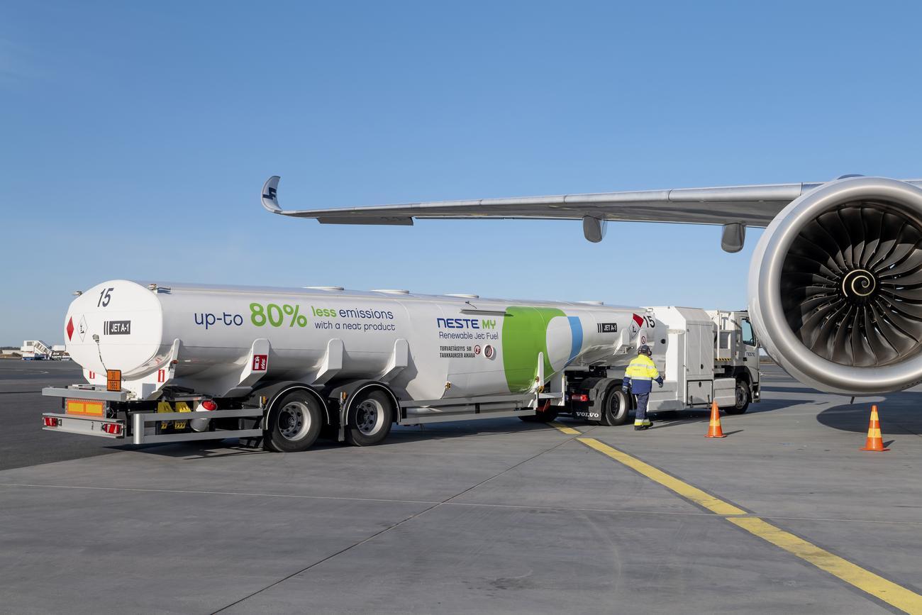 renewable jet fuel - Neste - sustainable aviation fuel