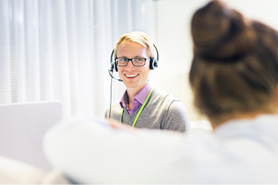 Commercial Support at Neste is working behind the scenes. We are responsible for managing back end operations.