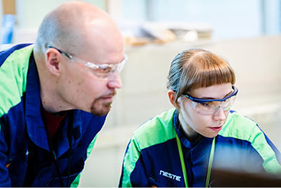 In R&D and Quality Control at Neste, we strive to improve our current product offerings and pursue new innovations.