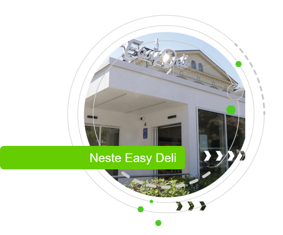 Easy Deli first automized RFID based self-service store concept in Europe