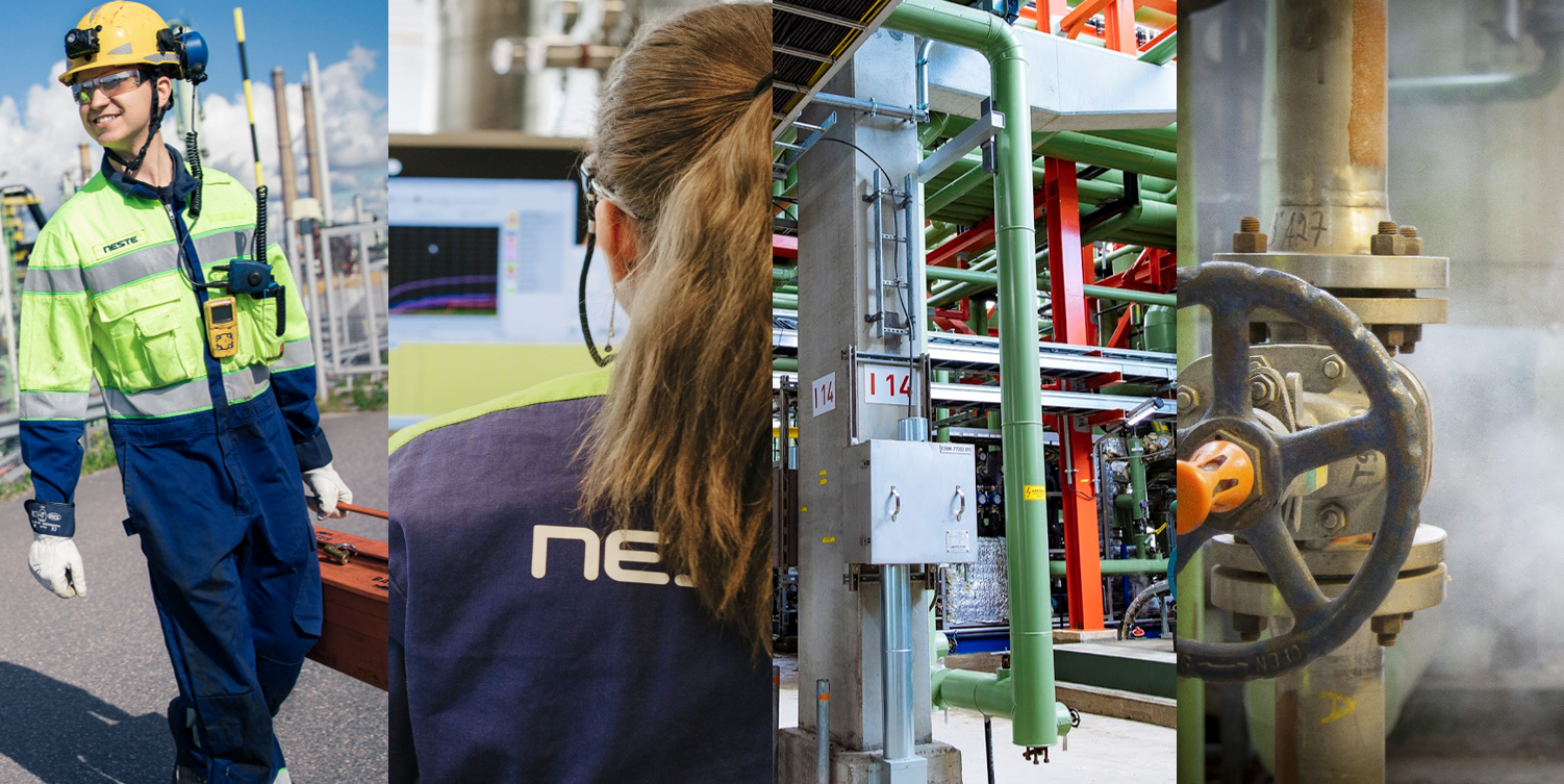 Production digitalization at Neste