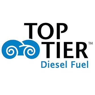 top tier diesel fuel logo