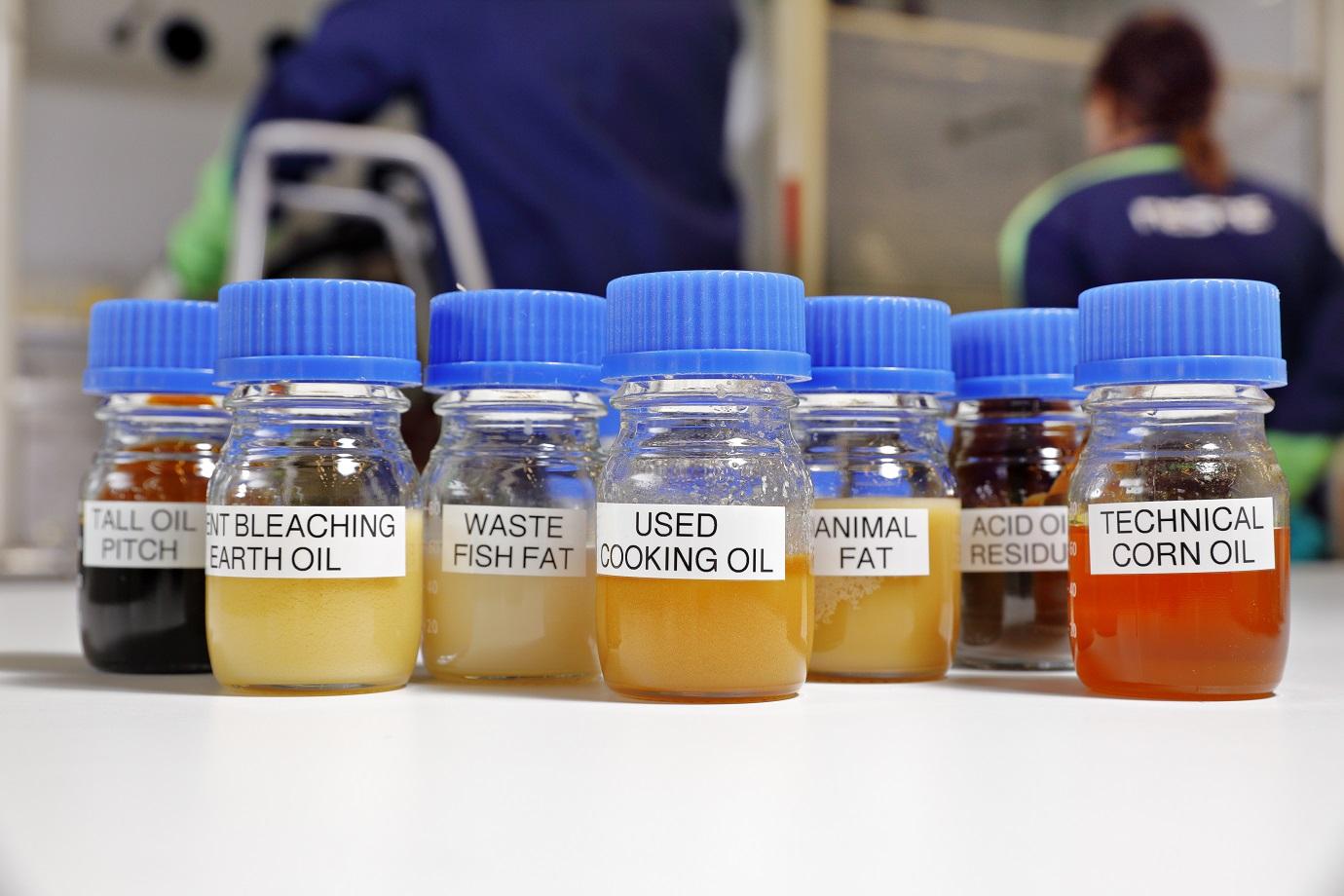 Neste's renewable raw material portfolio