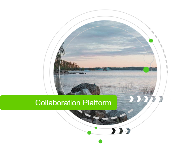 Digital platform for sustainability collaboration and reporting