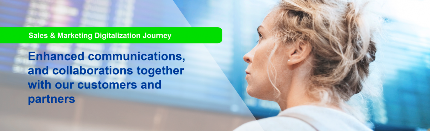 new ways for communications, collaboration and operations with digitalization