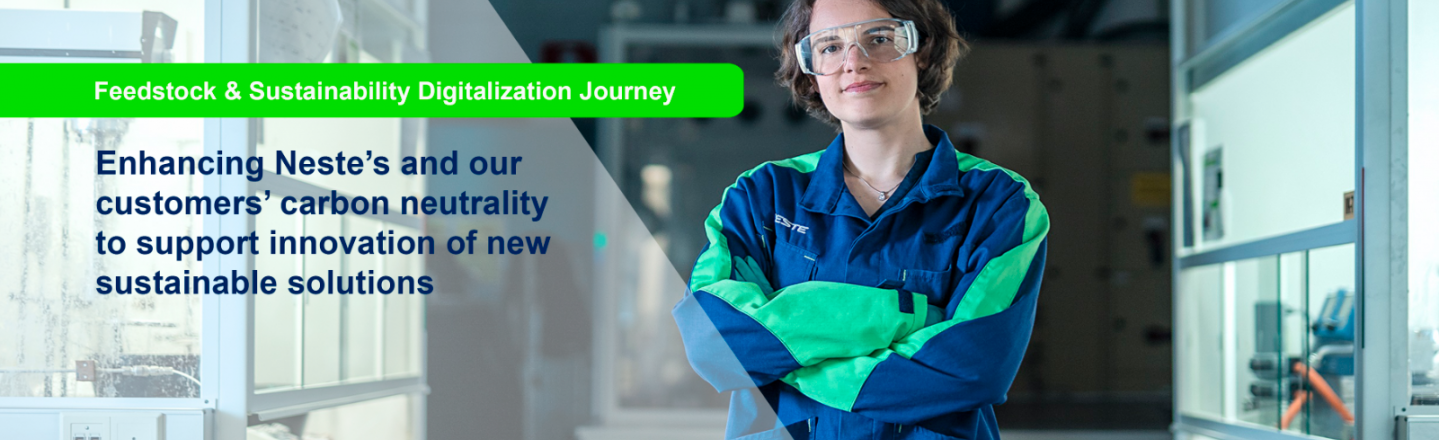 Our and customer's carbon neutrality and innovative sustainable solutions