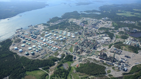 Porvoo refinery 2017