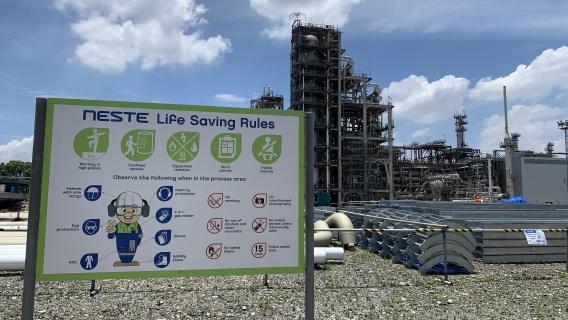 Safety at Neste Singapore Refinery