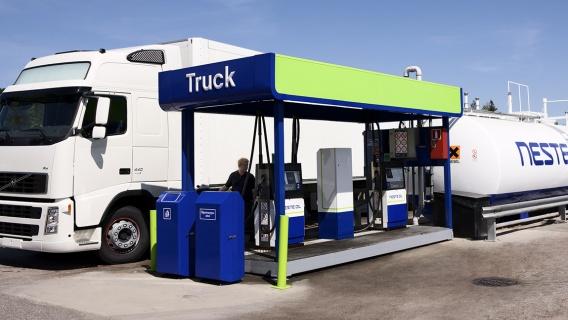 Neste truck station