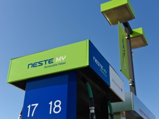 Neste MY Renewable Diesel station