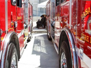 Fire trucks