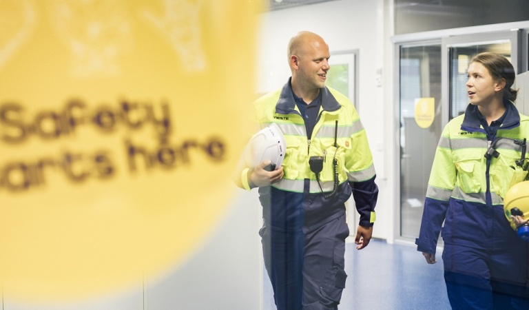 Safety has a high strategic importance for Neste and our systematic work for developing the safety performance continue everyday.
