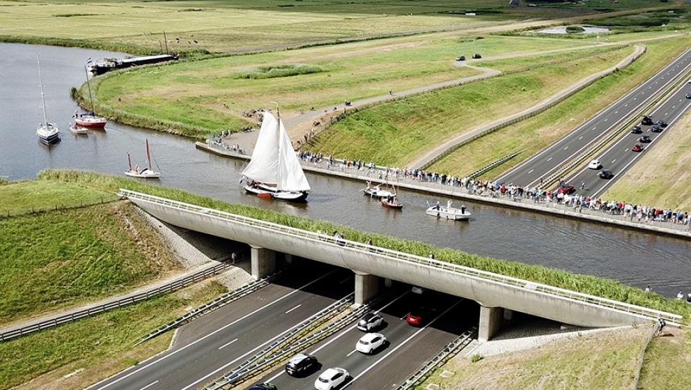 Journey to zero zero province the Netherlands