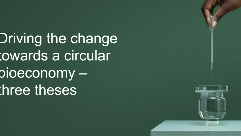 CEO Talks: Driving the change towards a circular bioeconomy – three theses