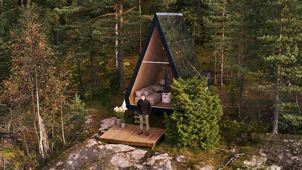 Sustainable cabin life anywhere you want