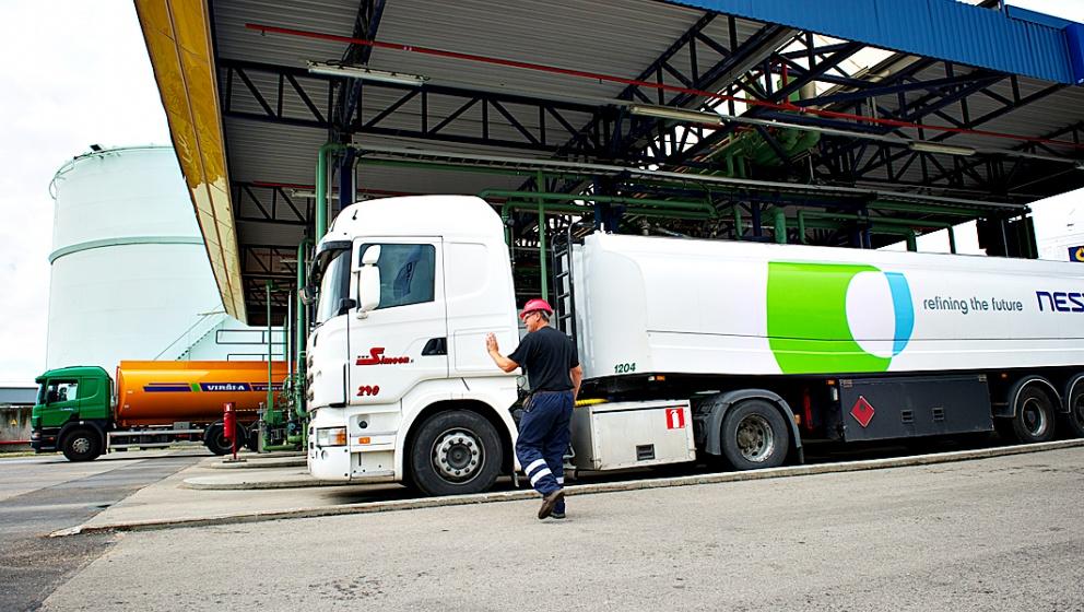 Neste truck