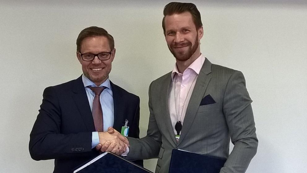 Ole Skatka ja Jacob Granqvist