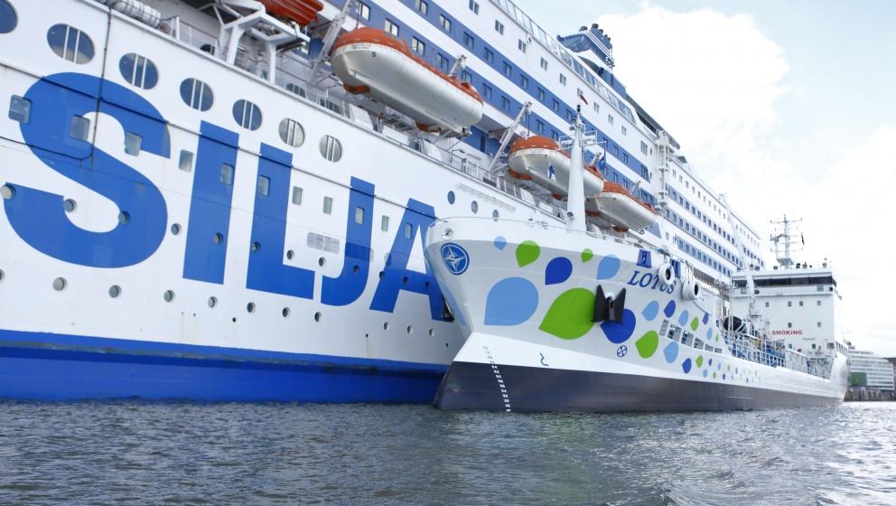 Tallink Silja and Neste's M/T Lotus.
