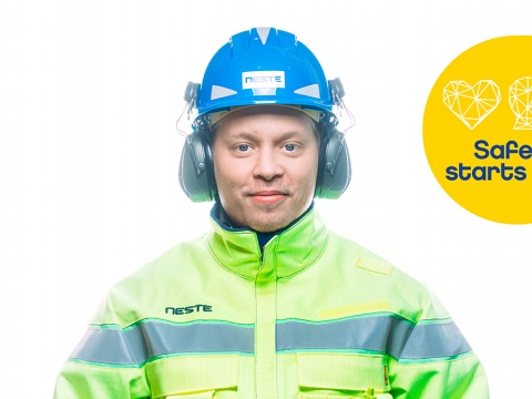 People are in the key role in building safe operations at Neste.