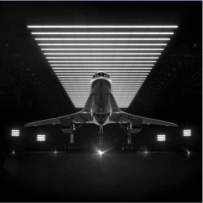 Overture, yhdysvaltaisen Boom-yrityksen virtaviivainen, 55–75-paikkainen matkustajakone on testivaiheessa. Boom kokeilee eturivin teknologioita futuristisen näköisellä XB-1-mallilentokoneella.